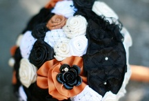 || themes: halloween || / Halloween wedding ideas, Halloween inspiration, creative food, handmade Halloween wedding finds, black and orange color palette, and more! / by Emmaline Bride | Handmade Wedding Blog