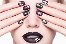 """Nail Fashions / You can decide to wear your favorite color polish...or not. What are the """"not"""" choices? Nail art can be an awesome addition to an already incredible, head-to-toe look."""