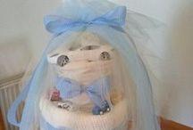 MY DIY PRODUCTS / diaper cakes, pinata, towel cake,