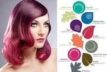 Pantone Hair Color / Each season Pantone releases its Fashion Report with the 10 top colors of the season. With fashion colors becoming mainstream, this report is turning into a handy hair color guide!