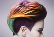Spring/Summer Vibrant Pastel Hair Color / #Beauty  It's time to celebrate the sweetest time of the year!