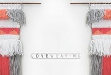 LOVE WEAVING / LOVE WEAVING  →Handmade with love←  Hecho en Chile  Valeria Couble  https://www.facebook.com/loveweavingcl http://instagram.com/loveweaving / by Valeria couble