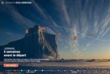 Webdoc et transmedia sur le thème du Voyage / Une sélection de web-documentaires et de projets transmedia sur la thématique du #Voyage.