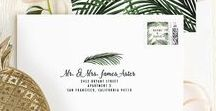 Wedding design / Cool design graphics and ideas for the perfect wedding!