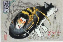 Monmon cats [Kazuaki Horitomo(彫巴)]