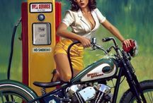 vintage motercycle