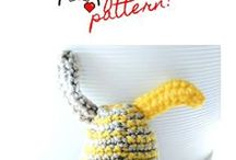 FREE Patterns by The Sweetest Geek / Here I will list all of my free and paid patterns for you to check out and try for yourself!