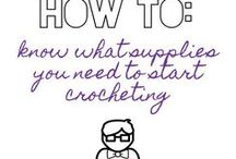 How-to's (learn to crochet with The Sweetest Geek) / I want to help as many people as possible to learn to crochet. My 'how to' posts take you step-by-step through the crochet journey, from hooks to yarn to crochet stitches.