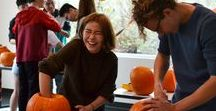 Pumpkin Carving 2016 / We had a Pumpkin Carving Hour at Squaw Valley Academy Bay Area. Many of our students had never carved a Pumpkin before. Students even voted on the three best pumpkins.