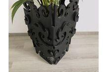 ➖Cache Pot en bois sculpté ➖ BAADINYAA