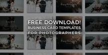 Free Branding Templates For Photographers / Free photography branding templates, inspiration and resources for photographers, artists, creatives and designers!