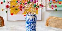 Pom pom lovers | Ideas con pompones de lana / Soy mega fan de los pompones. Si tú también lo eres, este tablero es TU tablero. Te va a encantar :)