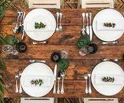 Las mesas del banquete - Wedding tablecloth