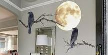 A Fantasy Halloween Party - Halloween Wall Decals / The most amazing collection of grown up Halloween Party ideas