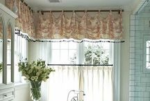 Curtains / by Amanda