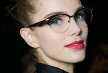 Specs Appeal / If you're a frequent glasses wearer, don't hide behind them - be bold with your frames! Here are our favourite bespectacled beauties. / by escentual.com