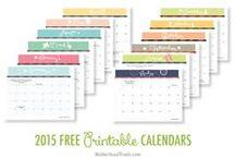 Printable Calendars / by Joy Hall