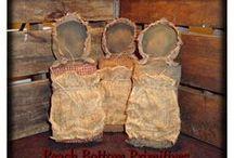 Prim Prairie Dolls / by Bette Seaver
