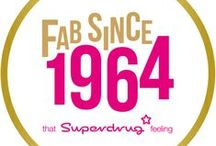 #Superdrug50 / It's our 50th Birthday! We're taking you back to the swinging 60s when our first ever store in Putney opened! Take a look at our host of ltd edition 50th Birthday products and join in the Birthday fun!