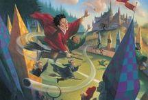 Artwork: Mary GrandPre [Harry Potter] / by Rosemary Coley