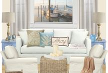 Beach Cottage Living Rooms/ Family Rooms / by Cheryl Page
