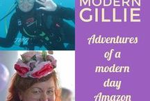 Thoroughly Modern Gillie / Amazon adventures from my blog, Thoroughly Modern Gillie. Fearless DIY, Travel, Sewing, Crafts. Health and Wellness with whatever else shows up in my whirlwind life.