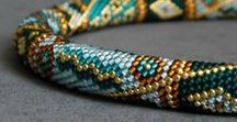 Beaded jewelry / At my online boutique, you can order custom made beadwork jewelry to suit your individual style or chose from a large selection of stylish necklaces, pendants, bracelets. All handmade jewlery is made in Gomel, Belarus.