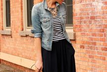Denim Jacket Style / Denim jackets are so versatile and can be worn with so many different things. Check out our denim jacket fashion inspiration.