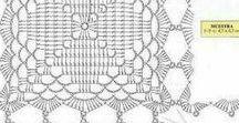 скатерти вязаные и шторы крючком
