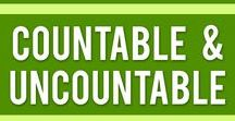 Countable & Uncountable / What are the differences between Countable & Uncountable nouns? Find out here.