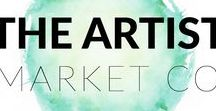 The Artist Market Co. / Emerging artists - Learn to market and sell your artwork with lessons, resources and a support group | Art | Fine Art | Marketing | Sales | Sell | Audience | Niche | Promote | Make a living | Online | Email | Social | Pinterest | Instagram | Facebook Group | Start | Paint | Draw | Scuplture | Watercolor | Pencil | Ceramic | Acrylic | Oil
