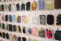 Art Studios / Organize | Organization | Inspiration | Tips | Tricks | Beautiful | Palette | Display | Hang | Studio | Pencils | Furniture | Brushes | Plants | Details | Shelves | Hang | Messy | Neat | Simple | Space | Attic | Home | DIY | Design | Room | Storage | Shed | Garage | Basement | Apartment | Decor | Layout | Workspaces | Ikea | Office | Lighting | Industrial | Modern | Loft | Table | Desk | Creative
