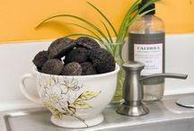 Homemaking / indoor plants, housewife