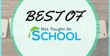 Best Of - Not Taught At School / In this board, we share all of our best blog posts, everything from how to work from home, earn online, tips for blogging, make money online, our interview series and much more.