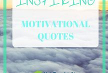 Quotes to inspire you / Motivational quotes, positive quotes, life quotes,  Inspirational quotes, quote of the day and best of Pinterest quotes. Motivational quotes for bloggers, business owners, entrepreneurs, because we all need some inspiration at sometimes.  Entrepreneur tips | Motivation for entrepreneurs
