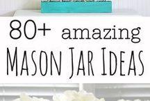 Mason Jar Ideas / by Heather Bryant