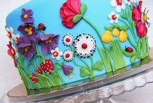 Cake Designs / by Janet Dalling