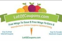 LotOfCoupons.com / Print free Internet coupons and transfer free eCoupons to your store saving cards.  LotOfCoupons.com offers a free new 21ST century way to coupon.  Save money each time you grocery shop.