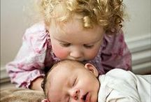 """Adorable Little Ones / All babies are """"beautiful"""".  But their expressions and a host of things make them """"adorable.  I prefer to post them in a natural environment rather than posed or dressed by a professional.  Occasionally, I can't resist! / by Elaine Culver"""
