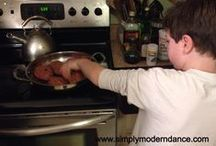 Cooking with the kids / My cooking adventures with my 7 and 9 year olds!