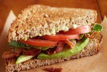 SANDUICHES e LANCHES / Sobre sanduíches de vários tipos para lanches, janta ou café da manhã! / by Gladis Krimberg