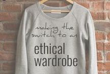 Conscious Shopping List / buy less,  buy better, buy fair trade, buy ethically sourced and created.