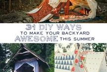 Backyard Party Ideas / Inspiration for Backyard Movie Party / by Astrid Rodriguez