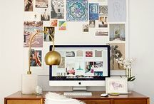 Office ideas / Inspiration for decorating/revamping my office space