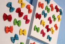 Kids Crafts Pasta
