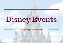 Disney Events / Disney offers special events throughout the year.  Fun festivals, concerts, parties and much more!