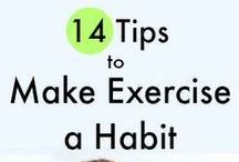 Get Fit / ideas to help me get fit and exercise