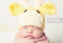 Crochet Animal Hat Patterns / A collection of crochet animal hat patterns (and a couple of knitting patterns!) that are fun for babies, kids, boys, girls, women and men!