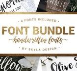 Fonts, Clip Art, Business Resources and Fun Stuff / Some of my favorite fonts, clip art, and business resources for my website, Etsy shops, and blogs…along with some other fun things thrown in too!