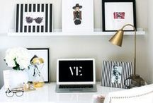 Home Office / Home office, study, work places that inspire